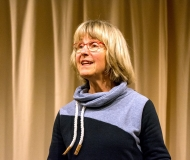 Brigitte Vaupel begann mit dem Dank - aber anders als üblich stritten sich die geister, mit wem man beginnen sollte.