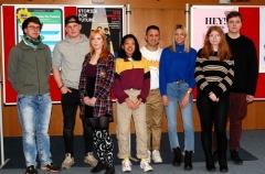 Von links nach rechts: Ruven, Henrick, Charlotte, Elisa, Atay, Louisa, Maren und Lukas - danke!